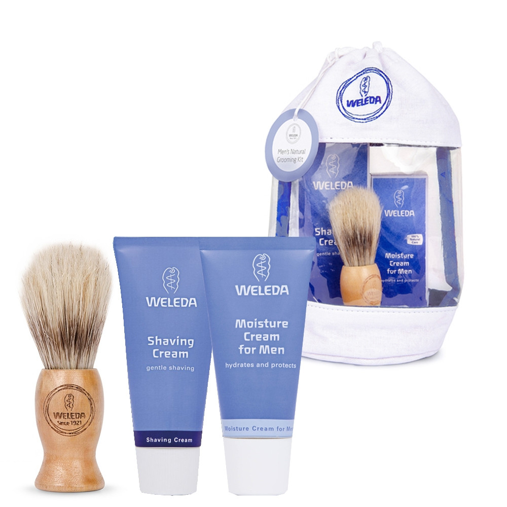 Weleda Mens Natural Grooming Gift Bag Kit