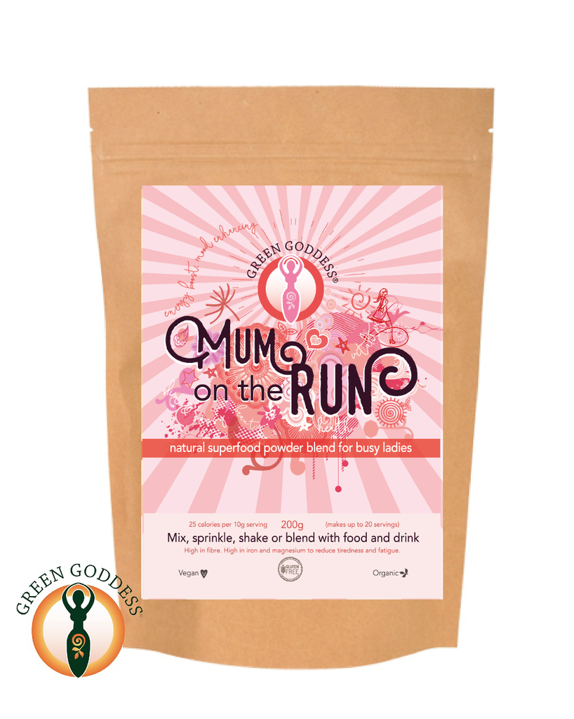 Green Goddess Mum On The Run Superfood Energy 200g