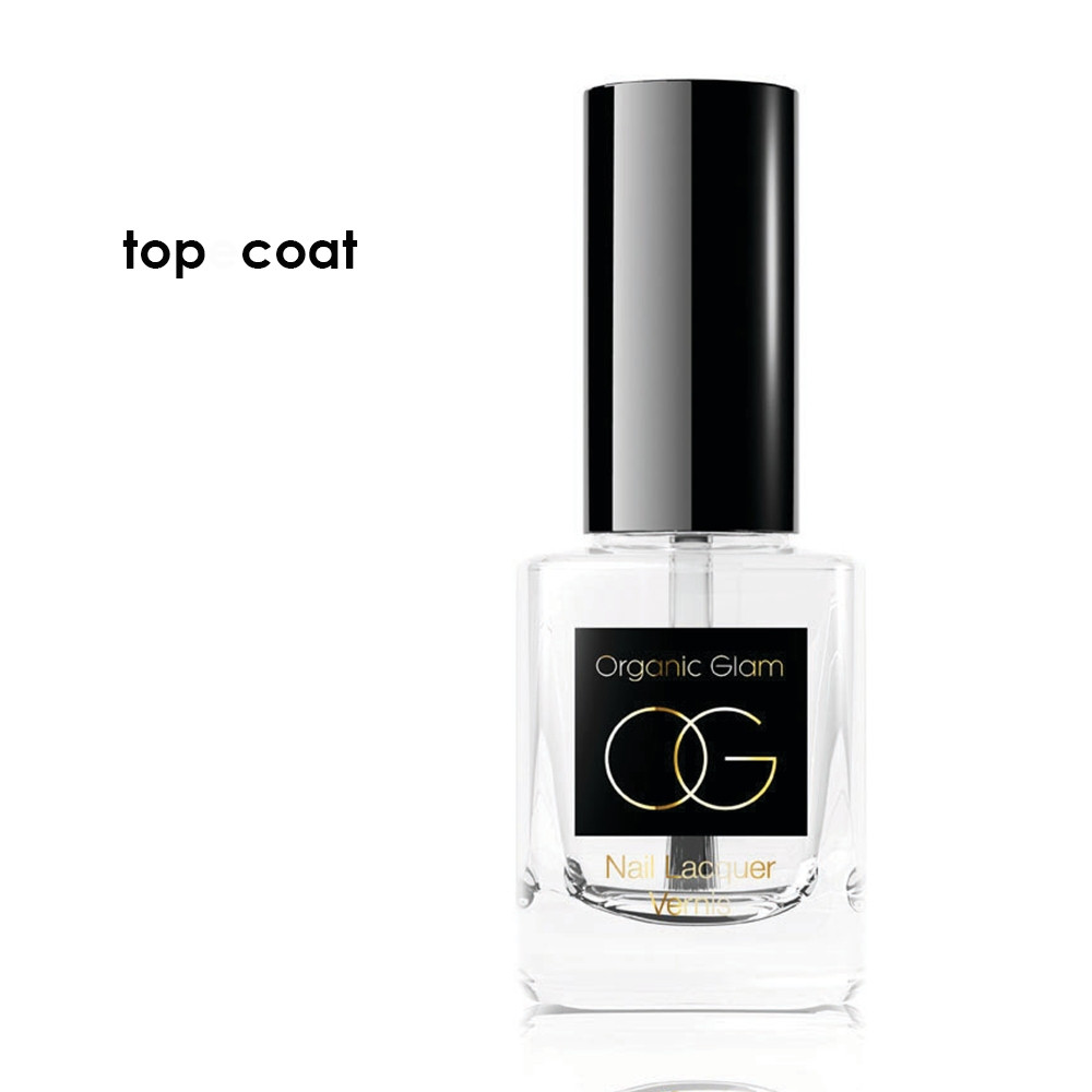 The Organic Pharmacy Nail Polish Top Coat 11ml