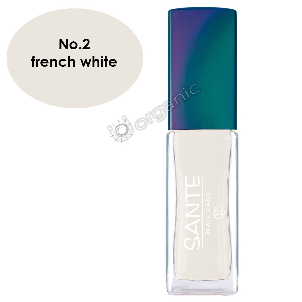 Sante Nail Polish No. 2 French White 7ml