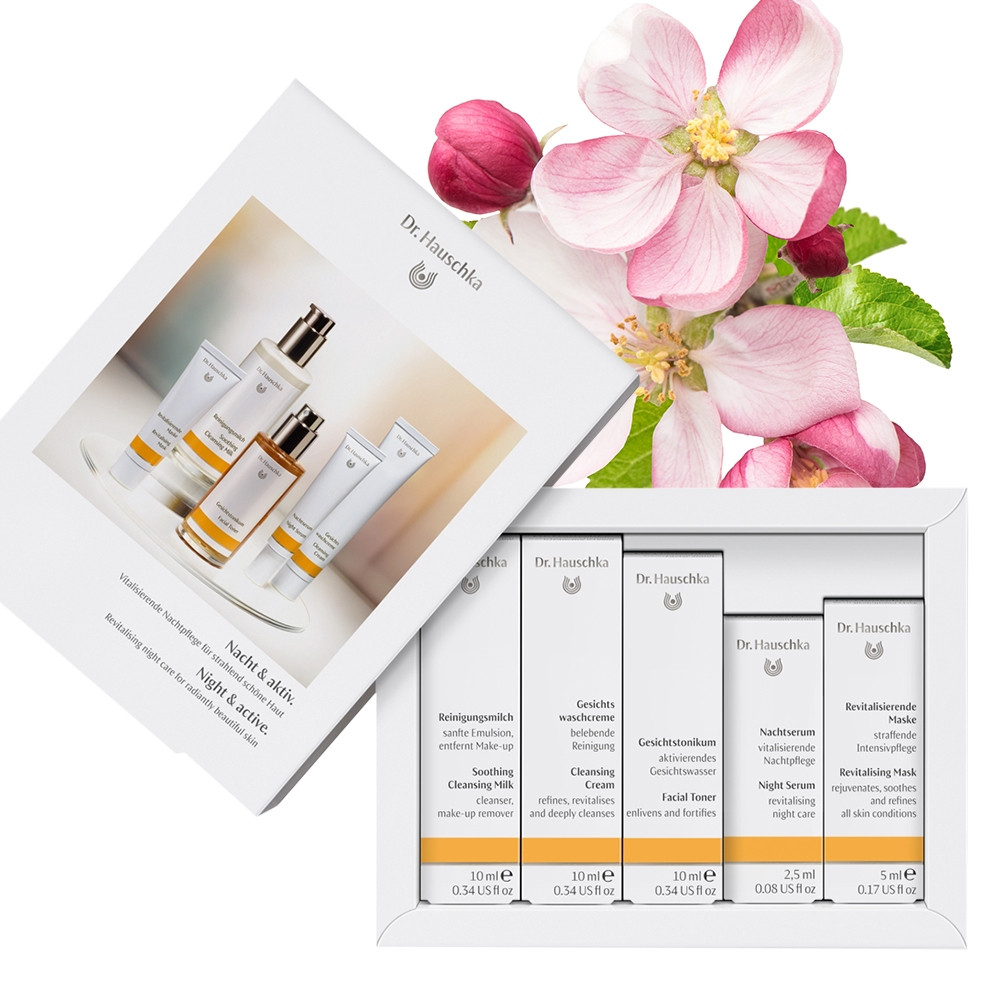 Dr Hauschka Night & Active Face Care Gift Set Collection