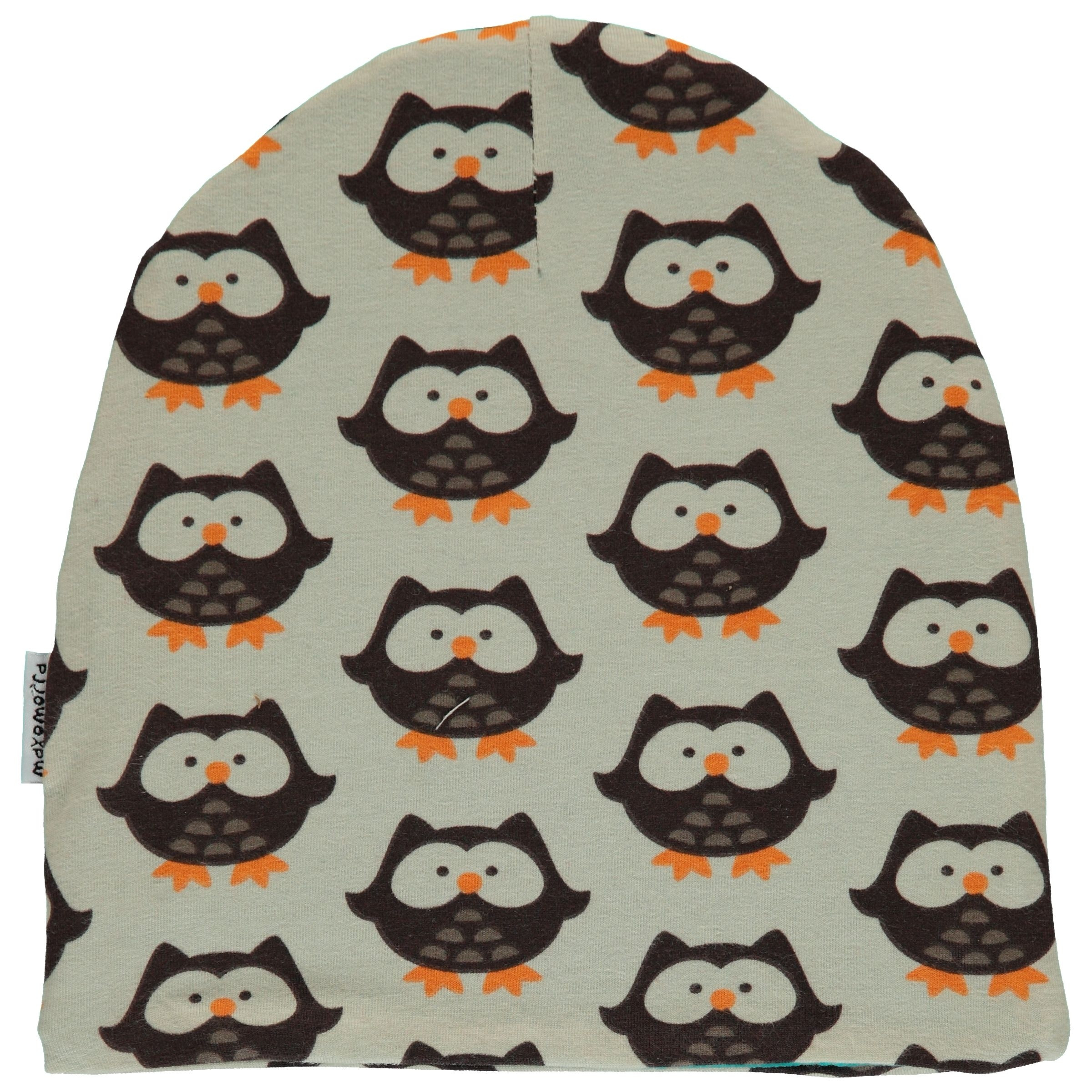 Maxomorra Owl Velour Hat