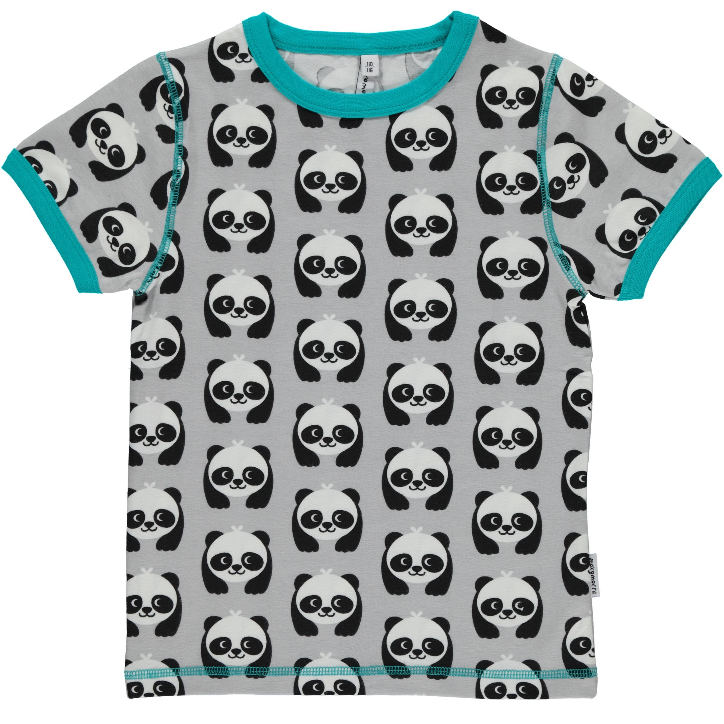 Maxomorra Panda T-Shirt Top