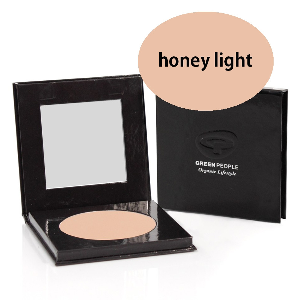 Green People Pressed Powder SPF15 - Honey Light 10g