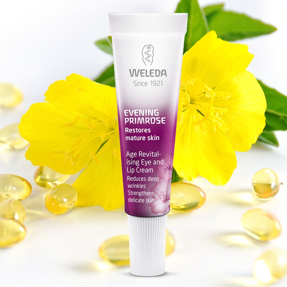 Weleda Evening Primrose Age Revitalising Eye Lip Cream 10ml