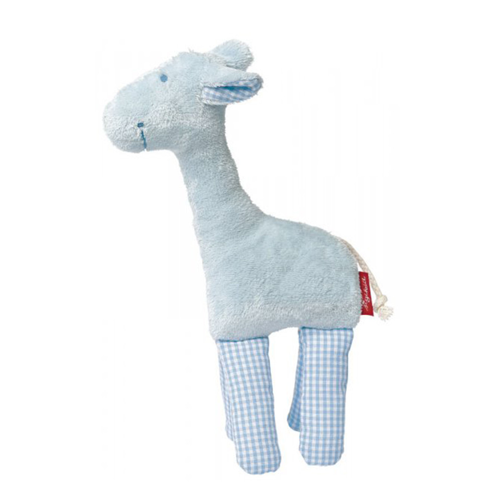 Sigikid Rattle Giraffe Blue, Sigikid First Hugs, Organic Cotton