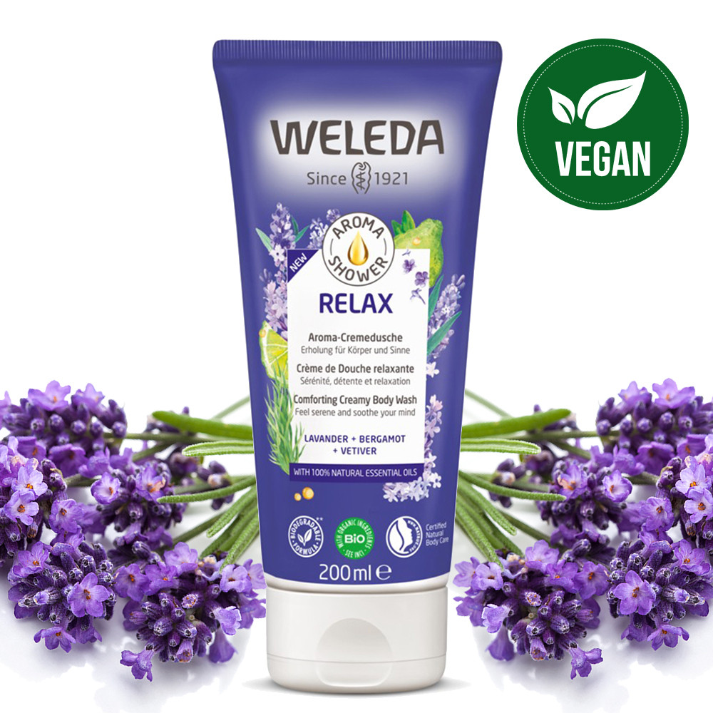 Weleda Relax Comforting Creamy Body Wash 200ml