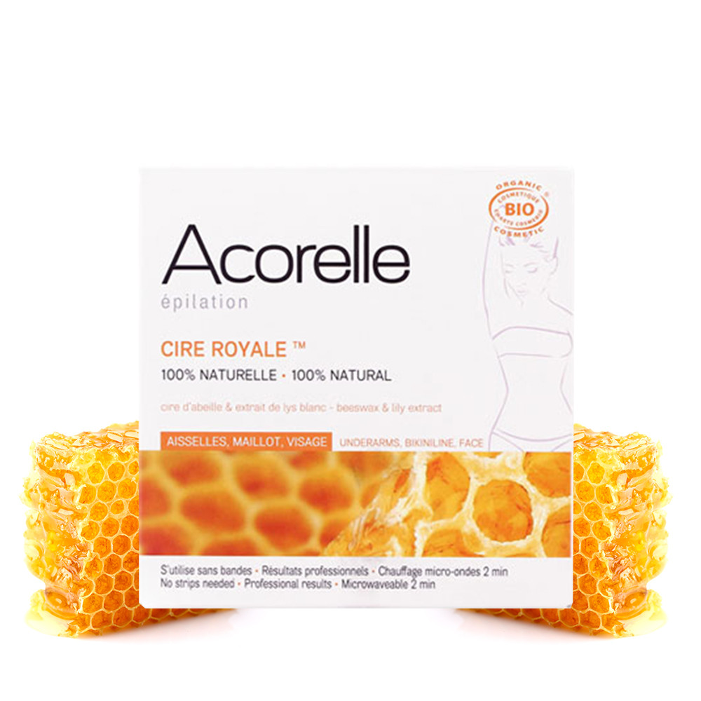 Acorelle Royal Hot Wax for Underarms, Bikini & Face 100g