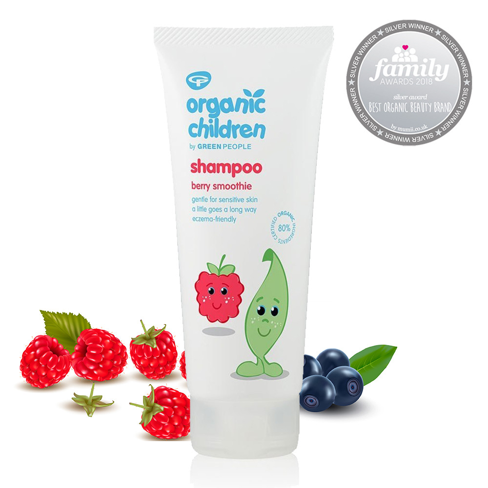 Green People Organic Children Shampoo - Berry Smoothie 200ml