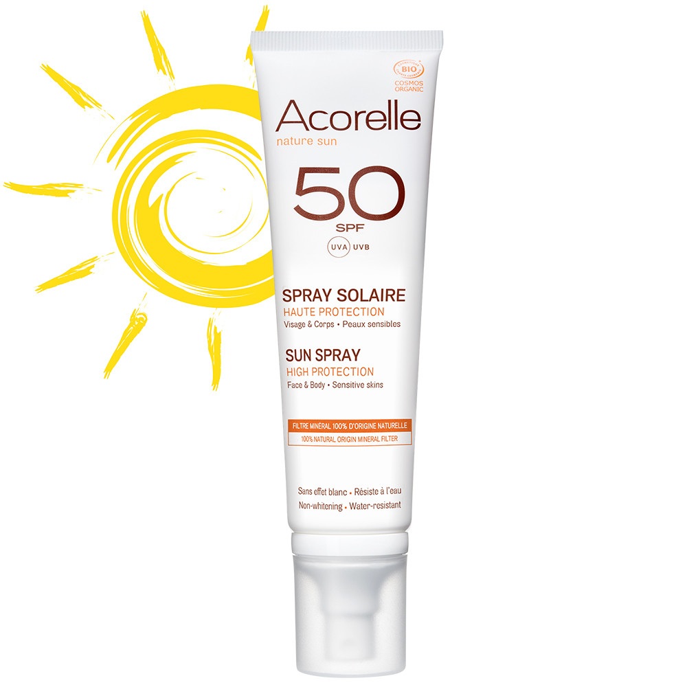 Acorelle Sun Spray SPF50 - Body (& Kids) 100ml