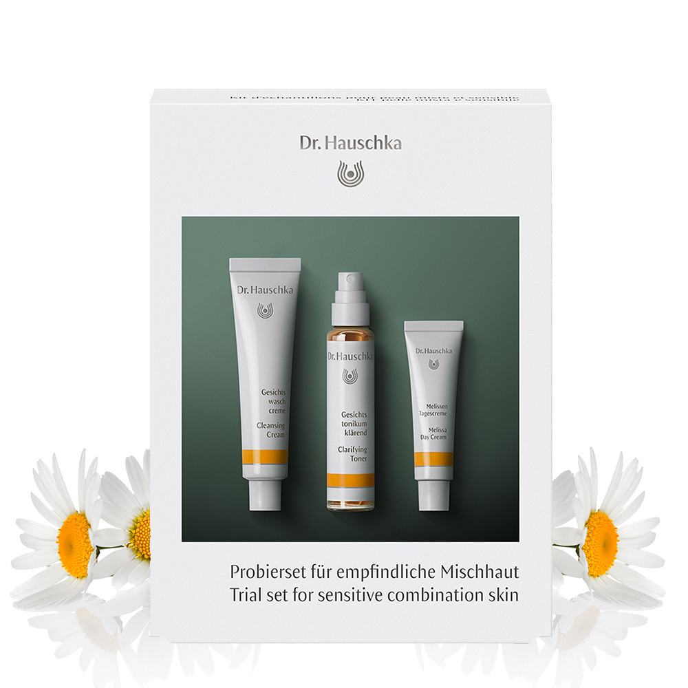 Dr Hauschka Trial Set for Sensitive Combination Skin