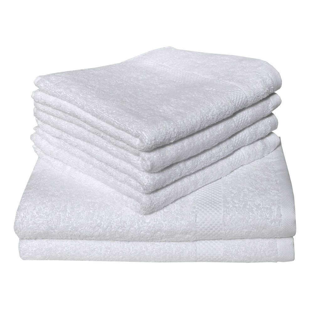 Dyckhoff Planet Towel 100% Organic Cotton - White