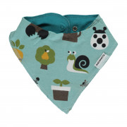 Maxomorra Garden Dribble Bib - One Size