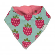 Maxomorra Raspberry Dribble Bib - One Size