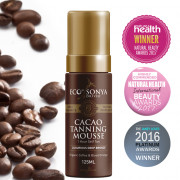 Eco by Sonya Cacao Firming Mousse 125ml - 1 hr foaming tanner