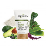Eco by Sonya Face Compost Mask 100ml