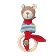 Sigikid Grasp Toy Bear, Green Collection