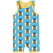 Maxomorra Humble Bumblebee Playsuit Short