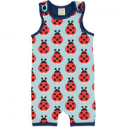 Maxomorra Lazy Ladybug Playsuit Short