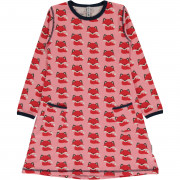 Maxomorra Fox Long Sleeved Dress