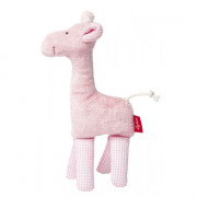 Sigikid Rattle Giraffe Pink, Sigikid First Hugs, Organic Cotton