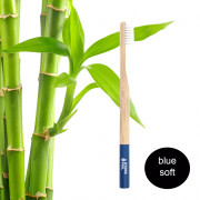 Hydrophil Adult - Biodegradable, Bamboo Toothbrush Blue - Soft