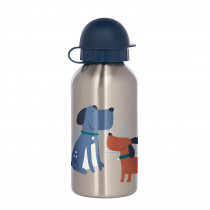 Sigikid Kids Drinking Bottle Dogs, Stainless Steel