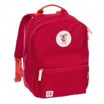 Sigikid Kids Backpack Red, Recycled Fibers