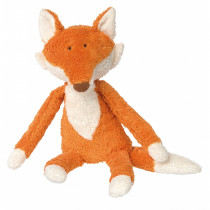 Sigikid Cuddly Fox Soft Toy, Organic Cotton