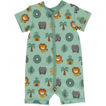 Maxomorra Jungle Rompersuit Short Sleeved