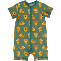 Maxomorra Lion Rompersuit Short Sleeved