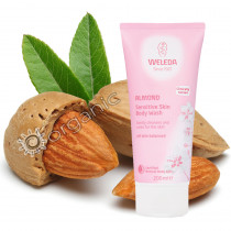 Weleda Almond Sensitive Skin Body Wash 200ml