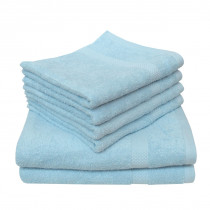Dyckhoff Planet Towel 100% Organic Cotton - Baby Blue