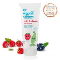 Green People Organic Children Bath & Shower - Berry Smoothie 200ml
