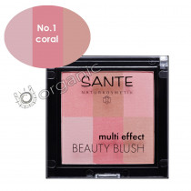 Sante Multi Effect Beauty Blush 01 Coral 8g