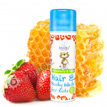 Marili Kids Strawberry & Honey Hair and Body Wash 150ml