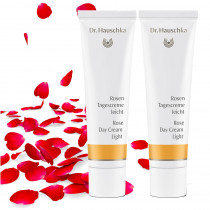 Dr Hauschka Rose Cream Bundle - 2 x Rose Day Cream Light
