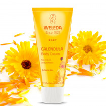 Weleda Calendula Moisturising Body Cream 75ml