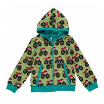 Maxomorra Monster Truck Cardigan Hood