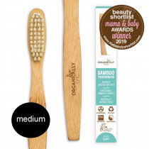 Organically Epic - Children's Bamboo Infused Bamboo Toothbrush MEDIUM