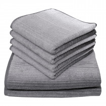 Dyckhoff Colori Towel 100% Organic Cotton - Grey