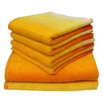 Dyckhoff Colori Towel 100% Organic Cotton - Yellow