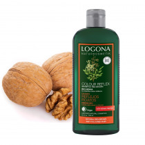 Logona Colour Care Shampoo Henna for Red to Brown Hair 250ml