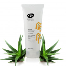 Green People Daily Aloe Shampoo for All Hair Types 200ml