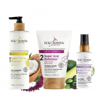 Eco by Sonya Skin Compost 3 Step Skincare Collection