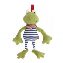 Sigikid Textile Clip Frog, Organic Cotton