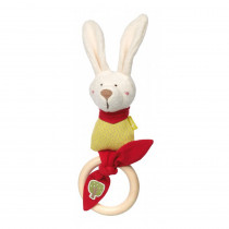 Sigikid Grasp Toy Bunny, Green Collection