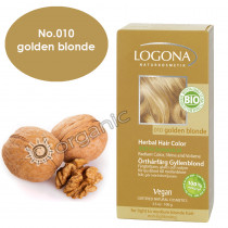 Logona Golden Blond Herbal Hair Colour 100g