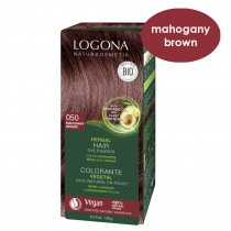 Logona Mahogany Brown Herbal Hair Colour 100g