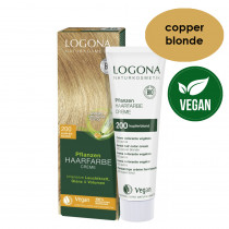 Logona Herbal Hair Colour Cream 200 Copper Blonde 150ml